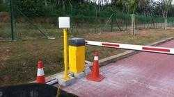 Automatic RFID System with Boom Barrier System