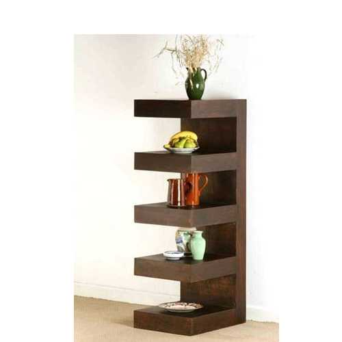 Salon Wooden rack shelf JMD 17