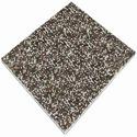 Mats of irregularly laminated glass fibres